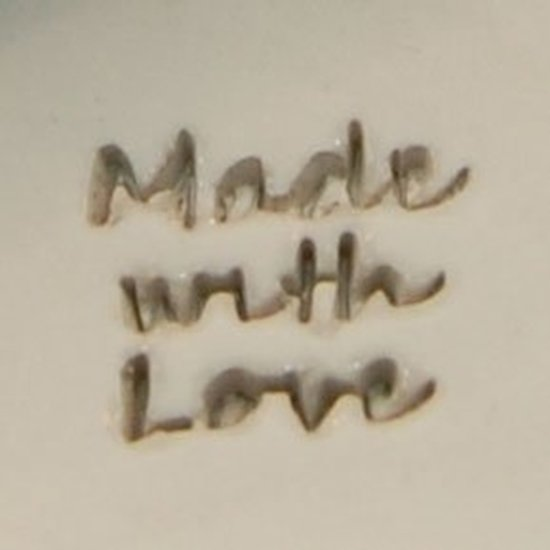 """Picture of Personalization Stamp- """"Made with Love"""""""