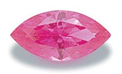 Picture of Pink Marquis Cut CZ (6x3mm)