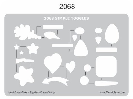Picture of BF-2068 Jewelry Toggles