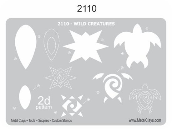 Picture of 2D-2110 Wild Creatures