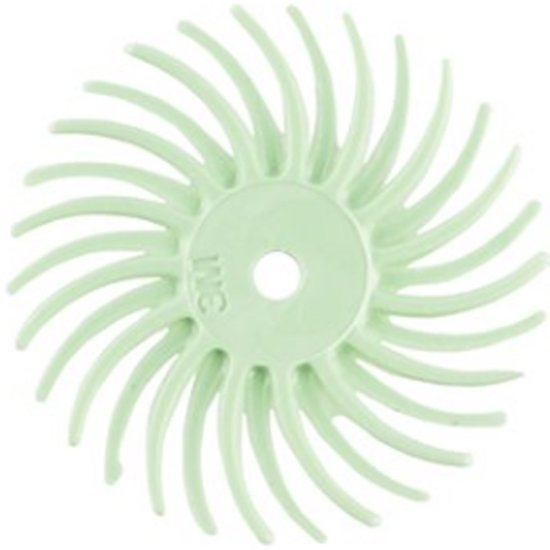 """Picture of 3M 3/4"""" Radial Bristle Disc Grit #8000(Set of 3)"""