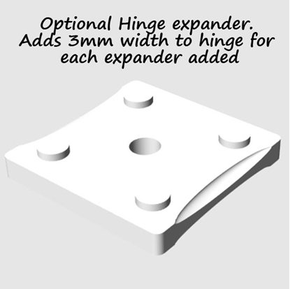 Picture of Hinge Expander For 4mm Hinge system