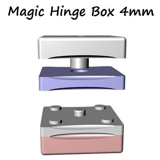 TWO SIDED BOX PENDANTS WITH STONES - PMC 960 STERLING ...   Metal Clay Boxes