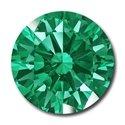 Picture of Emerald Round Cut CZ (2mm)