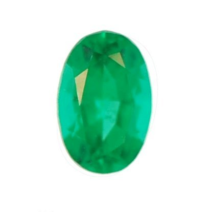 Picture of Emerald Green Oval Cut CZ (6x4mm)
