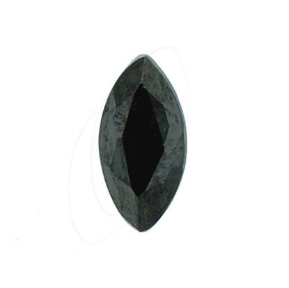 Picture of Black Marquise Cut CZ (6x3mm)