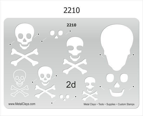 Picture of 2D-2210 Pirate Skull