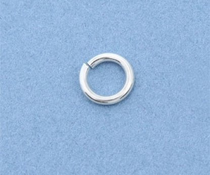 Picture of Sterling Silver Jump Rings 6mm (10 pack)