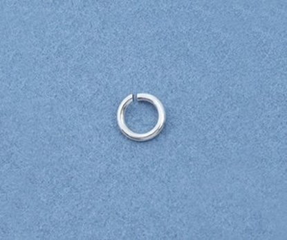 Picture of Sterling Silver Jump Rings 3mm (100 pack)