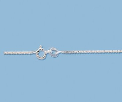 Picture of Sterling Silver Box Chain 1.14mm 18 inch