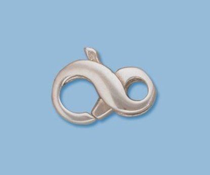 Picture of Sterling Silver Figure 8 Lobster  9x15mm (pack of 1)