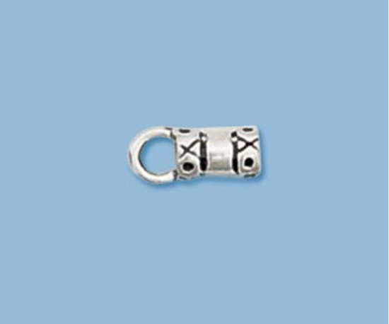 Picture of  Sterling Silver Fancy End Cap 2mm(2 pack)