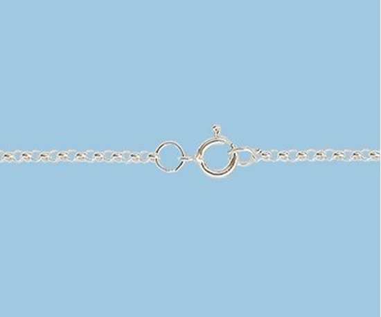 Picture of Sterling Silver Chain Rolo 1.4 mm 24 inch