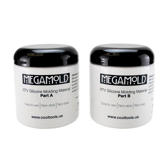 Picture of Mega Mold Silicone Molding Compound 1 lb kit.