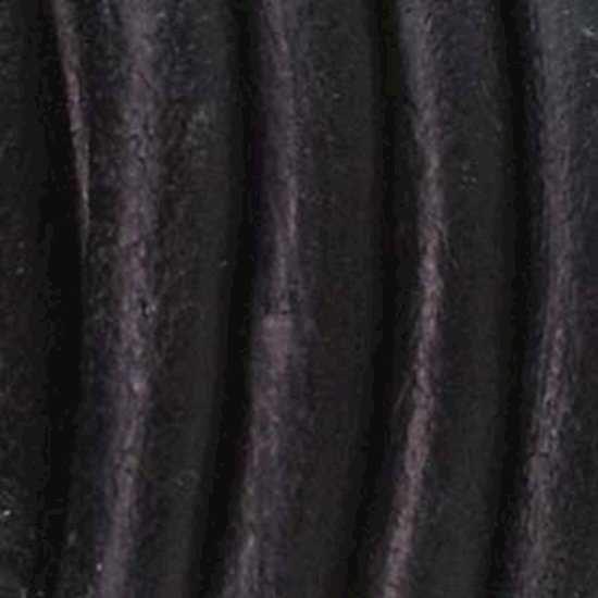 Picture of Indian Leather Nat Dye Black 2mm