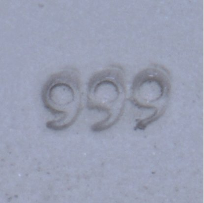 "Picture of Micro Stamp- "".999"""