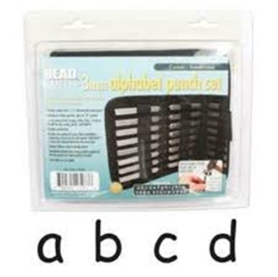 Picture of 3mm Stamp Set Comic(Lower Case)