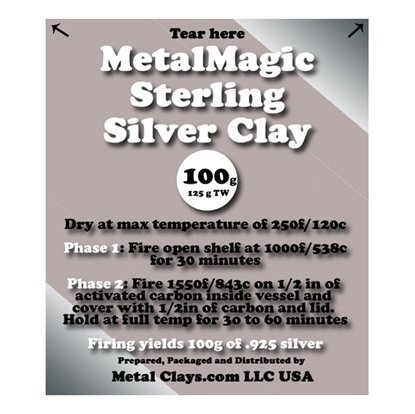 Picture of MetalMagic Sterling Silver Clay 100g (125g TW)