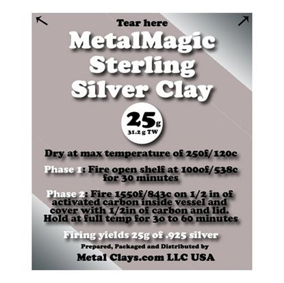 Picture of MetalMagic Sterling Silver Clay 25g (31.25g TW)