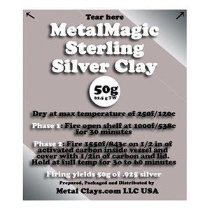 Picture of MetalMagic Sterling Silver Clay 50g (62.5g TW)