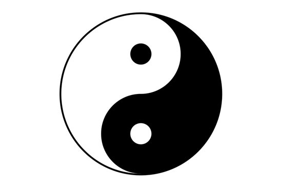 Picture of Yin Yang Symbol Stamp