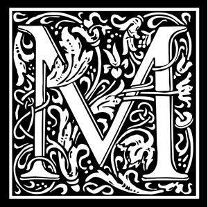 Picture of Monogram Stamp 20mm M