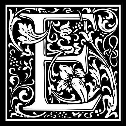 Picture of Monogram Stamp 20mm E