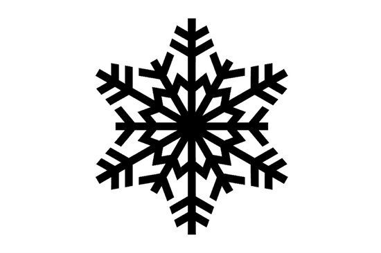 Picture of Snowflake Symbol Stamp