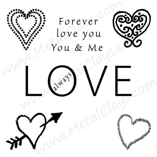 Picture of Lots Of Love 1-Symbol Stamp