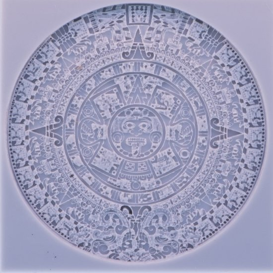 Picture of Texture Stamp - Aztec Calendar
