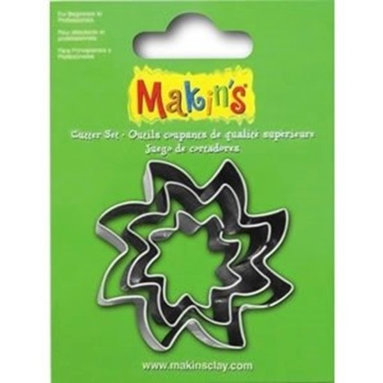 Picture of Makins Clay Cutter 3/set- Sun