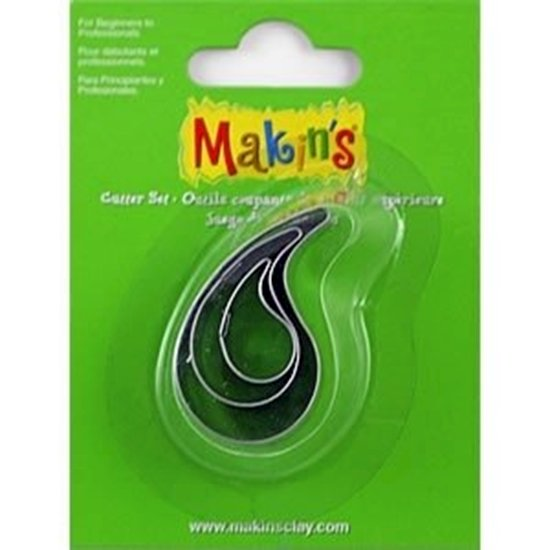 Picture of Makins Clay Cutter 3/set- Water Drop
