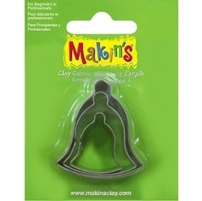 Picture of Makins Clay Cutter 3/ set- Bell