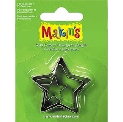 Picture of Makins Clay Cutter 3/set- Star
