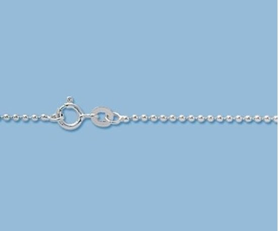 Picture of Sterling Silver Ball Chain 1.5mm