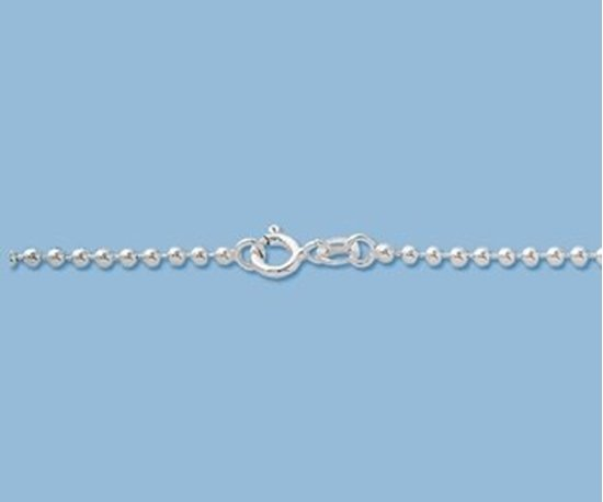 Picture of Sterling Silver Ball Chain 2mm