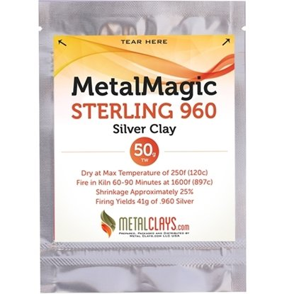 MetalMagic Sterling 960 Silver Clay 50g