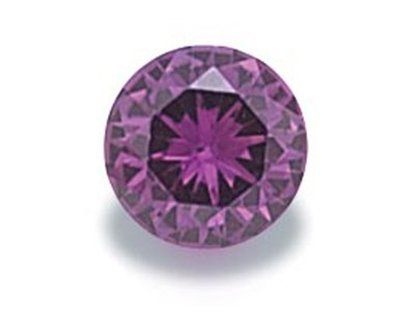 Picture of Purple Round Cut CZ (5mm)