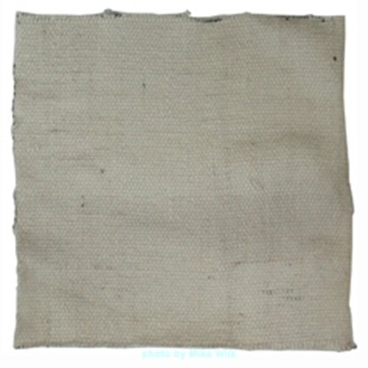 "Picture of Woven Ceramic Fiber Cloth - 12"" x 12"" approx"