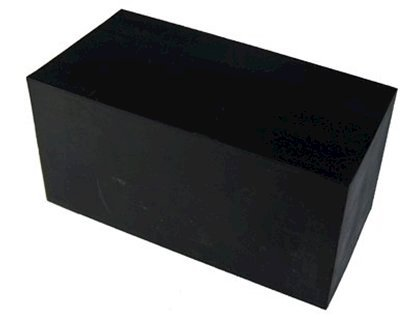 "Picture of Rubber Block (Large 2""x2""x4"")"