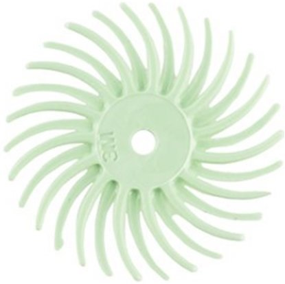 "Picture of 3M 3/4"" Radial Bristle Disc Grit #8000(Set of 3)"