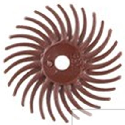 """Picture of 3M 3/4"""" Radial Bristle Disc Grit #220(Set of 3)"""