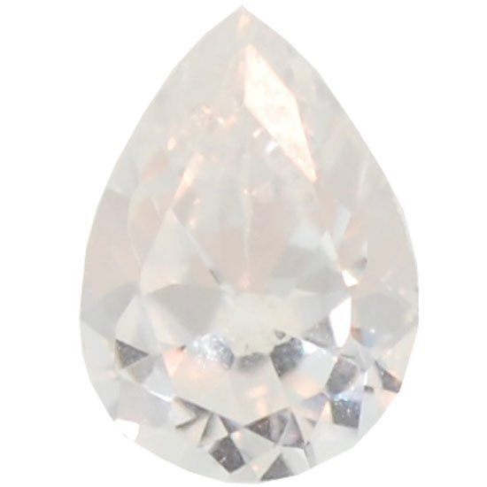 Picture of Clear Teardrop Cut CZ (7mm)