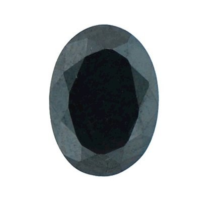 Picture of Black Oval Cut CZ (7x5mm)
