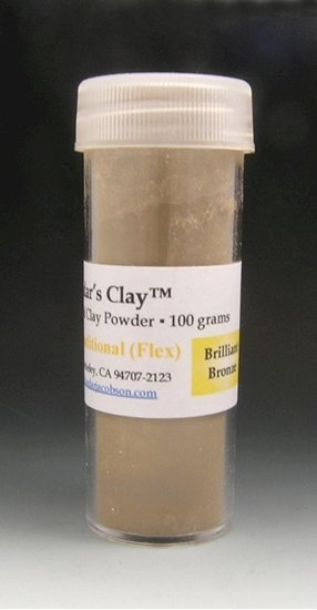 Picture of Hadar's Clay™ -Traditonal(Flex) Brilliant Bronze - 100 grams