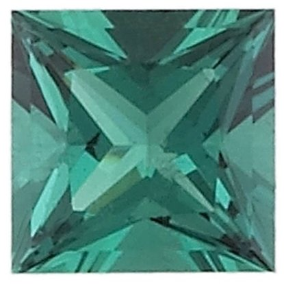 Picture of Emerald Square Cut CZ (3mm)