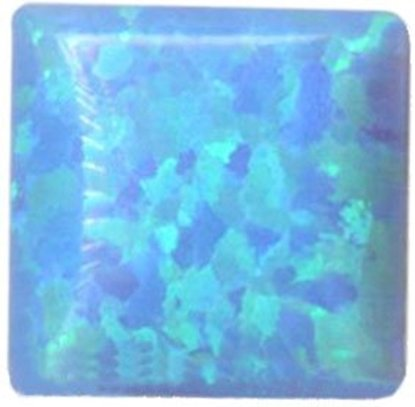 Picture of Syn Opal Square Cabochon 6X6mm