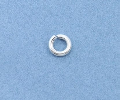 Picture of Sterling Silver Jump Rings 4mm (10 pack)