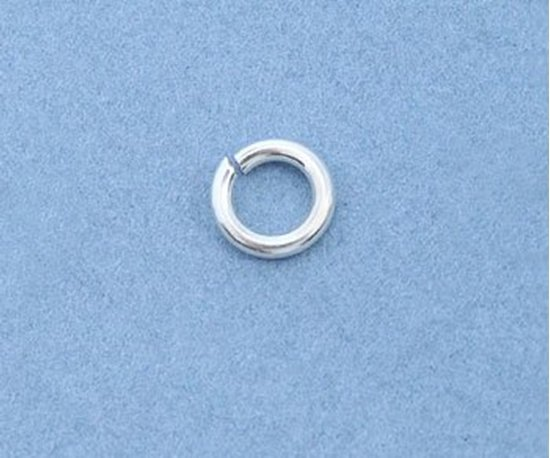 Picture of Sterling Silver Jump Rings 5mm (10 pack)