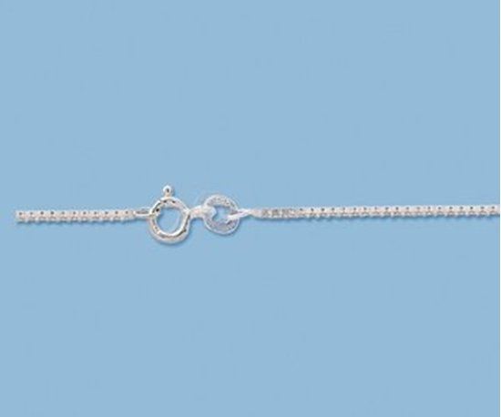 Picture of Sterling Silver Box Chain 1.14mm 20 inch